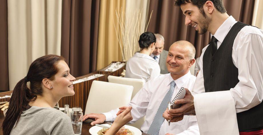 Sonrisa de camarero